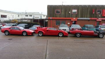 Some of the classic cars that we've worked on